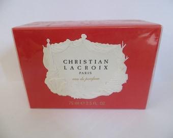 CHRISTIAN LACROIX Eau De Parfum for women 75ml 2.5 fl.oz rare discontinued sealed