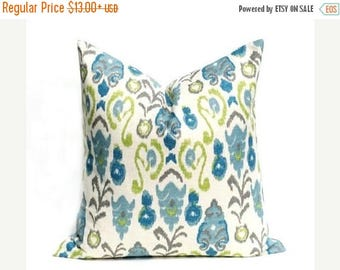 15% Off Sale Pillows, Decorative Pillow Cover,Ikat Pillow  Blue Pillows Blue Pillow  throw pillow covers Ikat  Accent pillow  Throw Pillows