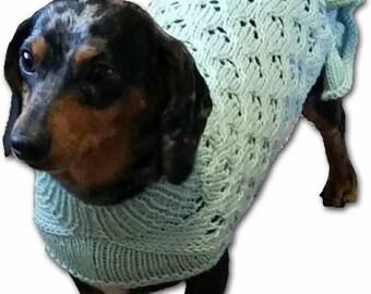 The Ruffle - Lace Dog Sweater Pattern