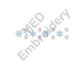 Snowflakes - Machine Embroidery Design