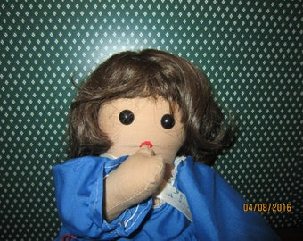 Brown Paige-Boy Style Doll Wig, Size 10