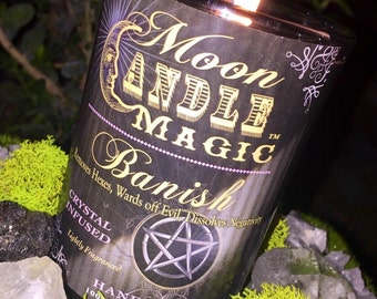 Spells~Spell Candle~Banish Candle~Magic Candle~Protection Candle~Wiccan Candle~Ritual Candle~Witch Candle~Witchcraft Candle~Herb Candle~