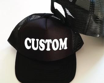 Custom Trucker Hat. Custom Bachelorette Party Hats. Custom Trucker Caps. Custom Hats. Hen Party Hats. Personalised Hats. Birthday Hats.