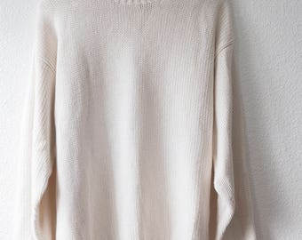 80's Gap perfect off-white knit sweater