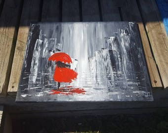 Girl with the Red Umbrella