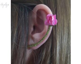 woodland ear cuff