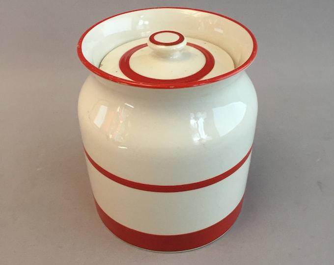 1950s ceramic kitchen jar kleen kitchen ware