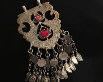 Kuchi pendant etsy old vintage pendant afghan kuchi jewellery kuchi handmade kuchi pendant aloadofball Images