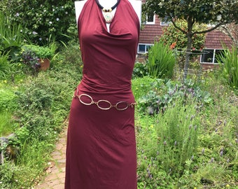 Veluna tango dress - Rust