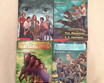 Animorphs Books