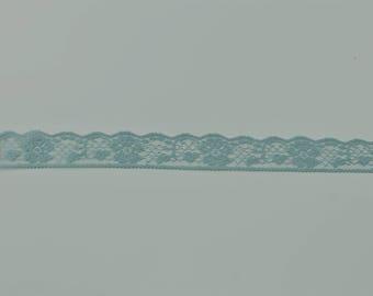 Lace trim, Edge Lace, Bridal lace, blue bridal lace, Wedding dress lace, Delicate lace, Lace fabric, Scalloped lace, Lace edge, Floral lace