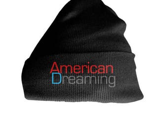 NEW Status Plus American Dreaming Cuff Long Beenies Thick and Soft