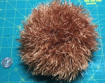 Large Red Crocheted Tribble
