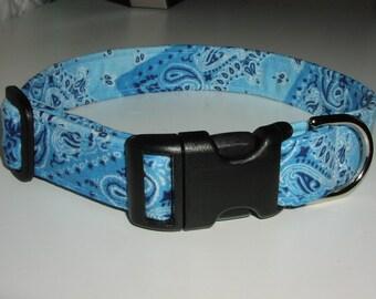 Dog Collar - Bandanna Blues
