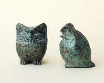 Bronze Sculpture Owl, Greek Metal Art Sculpture, Museum Quality Art, Greek Art, Goddess Athena Symbol, Bird of Wisdom, Metal Bird