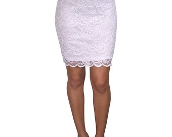Ladies form fitting skirt