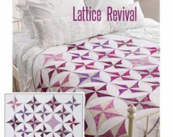 """Lattice Revival by Sew Kind of Wonderful, measures approximately 51"""" x 64"""""""