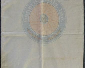 Flour sacks / fabric / antique / plain /