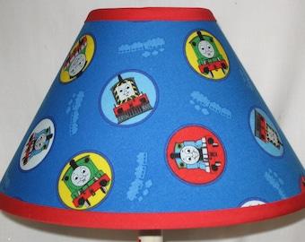Amazing Thomas The Train Childrenu0027s Fabric Lamp Shade/Childrenu0027s Gift