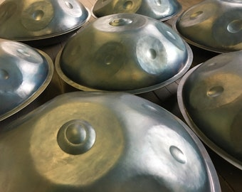 Handpan (2018 model by Ketut Suda and the original Balisteelpan team)