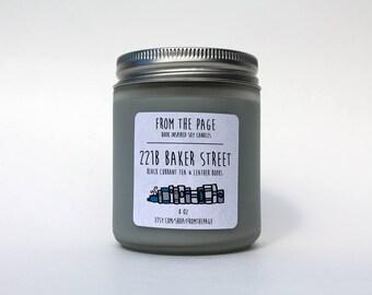221B Baker Street Soy Candle - 8 oz