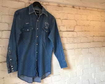 Vintage Wrangler Denim Shirt