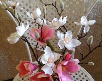 Pink Magnolia Pot