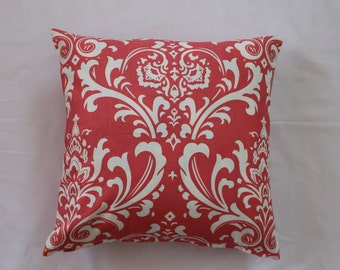 16 x 16 Coral Ozbourne Pillow Cover