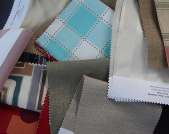 A Sampling of Upholstery Fabric Pieces for Your Fabric Stash  SP