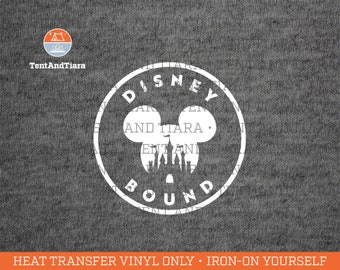 Disney Iron-On Transfers, Shirt Decal, Disney Family Shirts, DIY Disney Shirts, Magical Vacation