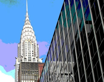 Surreal Photography, Surreal NYC, Chrysler Building, New York Prints, New York City, New York Photography, New York Photos, NYC Photography