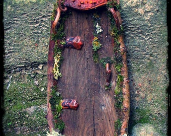 Faery Door Custom Order in Natural Materials