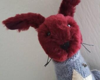 Rabbit Stuffed Animal & Plushies 100% Handmade 34 cm