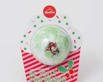 SALE! 3pk Jolly Peppermint Clamshell Bath Bomb
