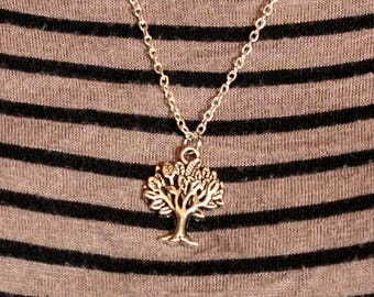 Handmade Silver Tree of Life Necklace