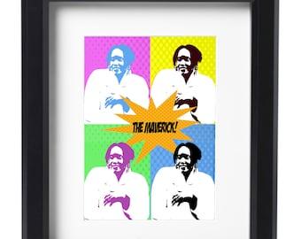 """Living Single Poster Max- """"The Maverick"""""""