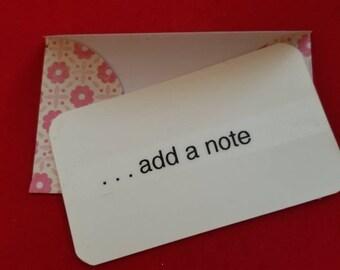 Add a note card
