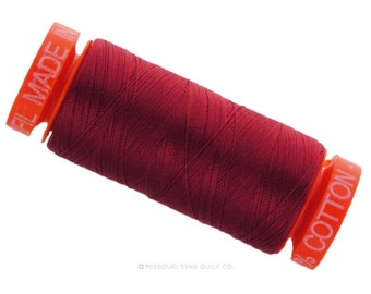 MK50 1103 - Aurifil Burgundy Cotton Thread