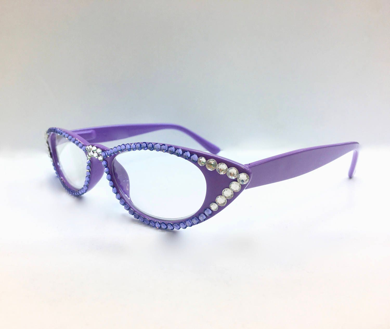 Swarovski Crystal Readers Reading Glasses 1.25 2.25 3.00