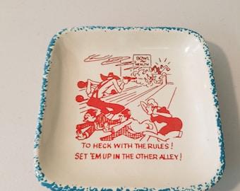 Bowling Kitsch Dish - Vintage  #14