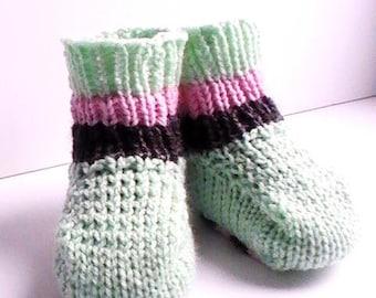 Acrylic striped socks