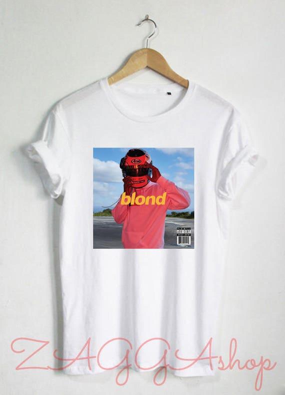 Frank Ocean Shirt Blond Blonde Frank Ocean Tour T Shirt Unisex T Shirt Tee Size S 2 Xl #2 by Etsy