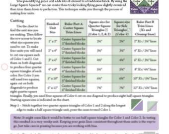 Birds of Paradise Technique Sheet