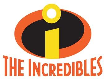 Incredibles SVG, Incredibles Digital File ,Digital cut file Incredibles svg, Dxf, Eps, Png ,JPG Instant Download