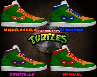 Men's Light Up Teenage Mutant Ninja Turtles Shoes