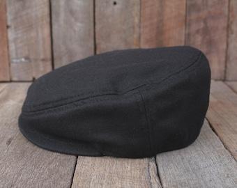 Men's Gift, Newsboy Hat, Mens Vintage Style Cap, Wool Fashion Hat, Mens Driver, Gift for Him, Dad's Hat, Boyfriend gift SALE