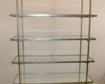 Mid Century Modern 6 Tier Etagere by Jonathan Charles Model #49423-S