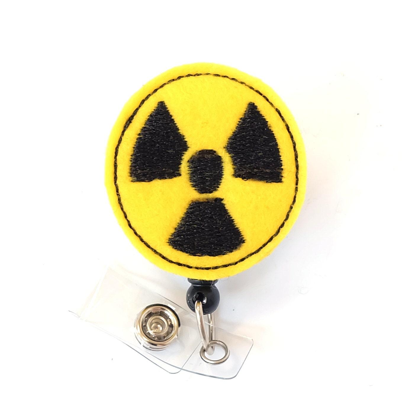 Radiation symbol radiologist badge rad tech gift zoom buycottarizona Image collections