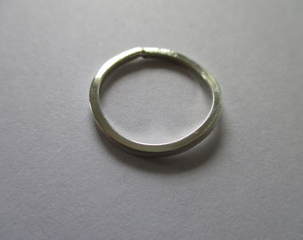 Sterling Silver Wire Band Rings Size 4.5