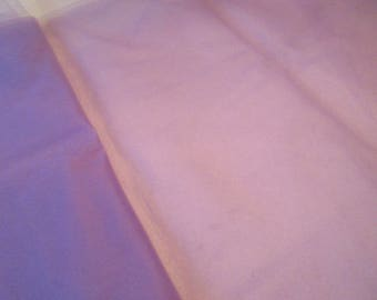 """Nylon Tulle Net Fabric, Violet color; 104"""" wide netting priced per 1 yard"""